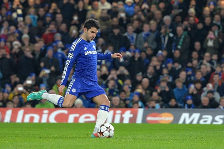 Fabregas was a wonderful player for Chelsea