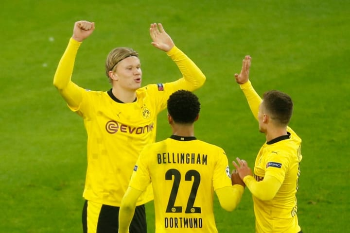 Haaland has been a smash hit at Dortmund
