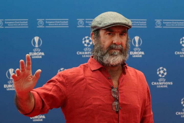 Eric Cantona, leyenda del Manchester United