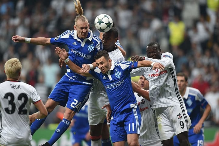 Andreas Beck and Vincent Aboubakar got their marching orders on a fractious evening