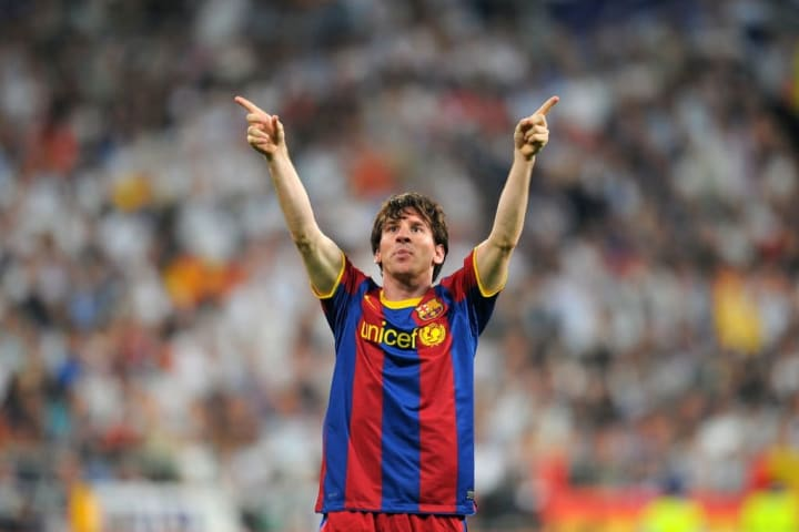 Messi magic separated the two sides in the first leg