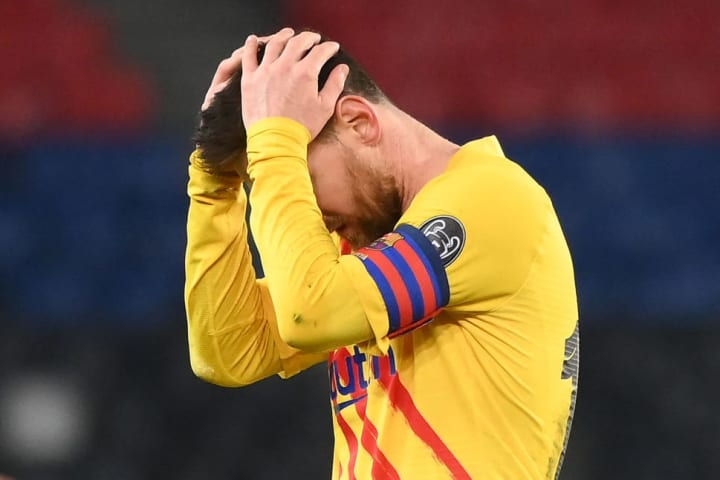 Lionel Messi's missed penalty all but ended Barcelona's hopes of a comeback against Paris Saint-Germain