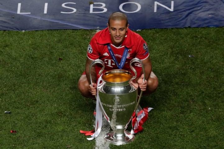 Thiago won the lot at Bayern