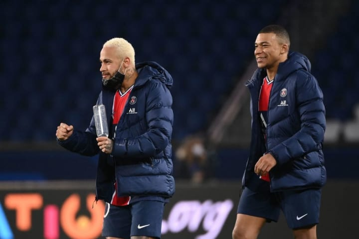 Mbappe and Neymar are two of the highest paid players in world football