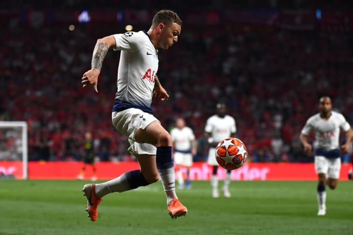 Trippier played for Tottenham in the 2019 Champions League final