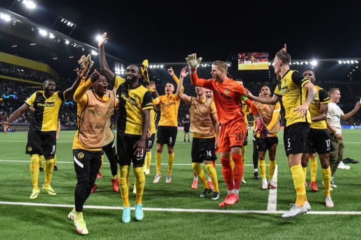 Young Boys got off to a flying start against Man Utd
