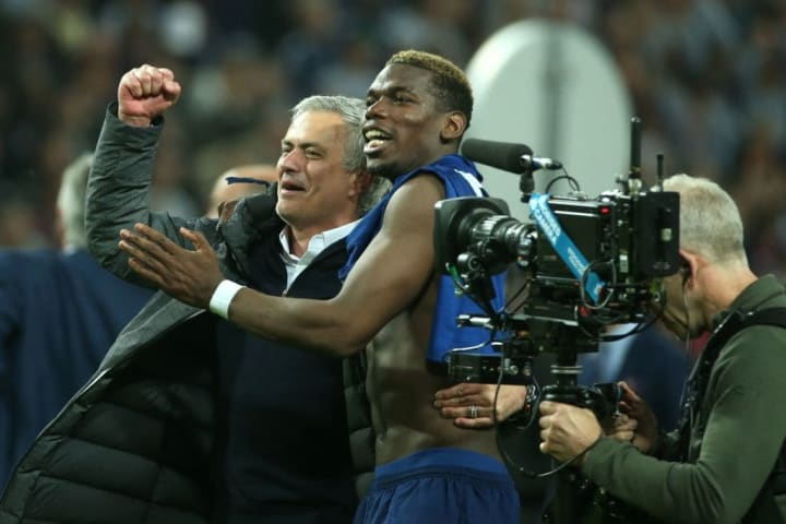 Jose Mourinho, Paul Pogba