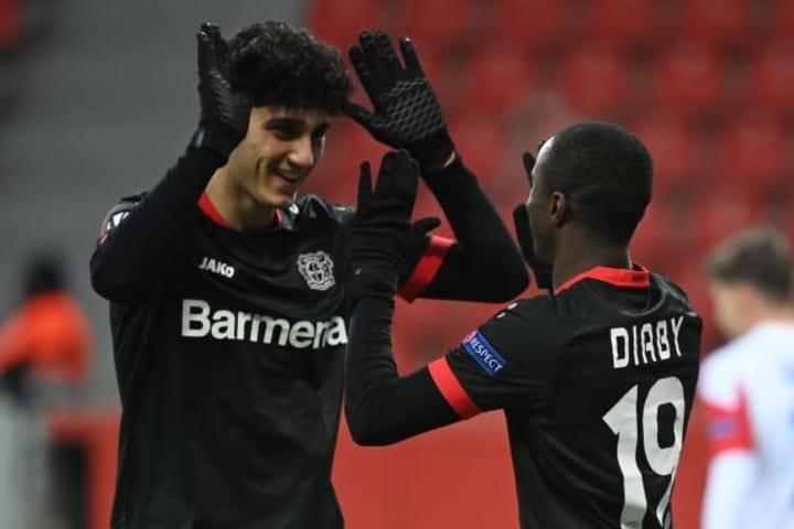 Bayer 04 Leverkusen, Emrehan Gedikli, Moussa Diaby