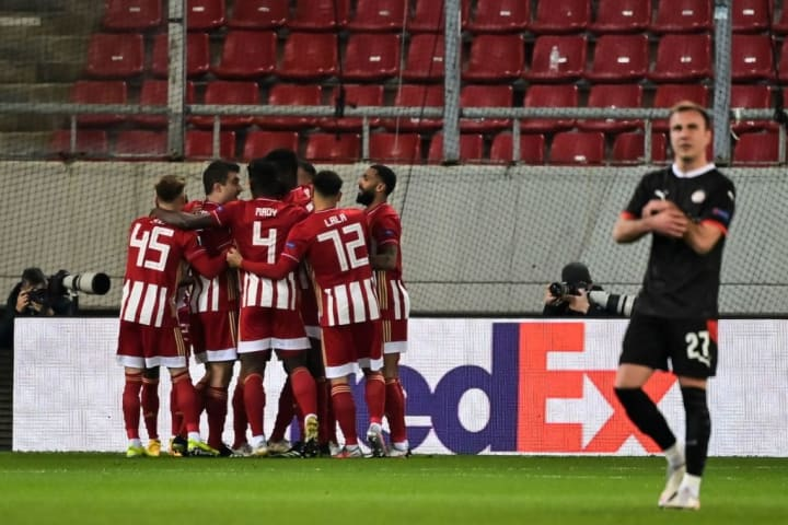 Olympiacos could benefit from the Champions League format change
