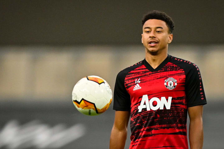 Lingard has not featured in the Premier League this season