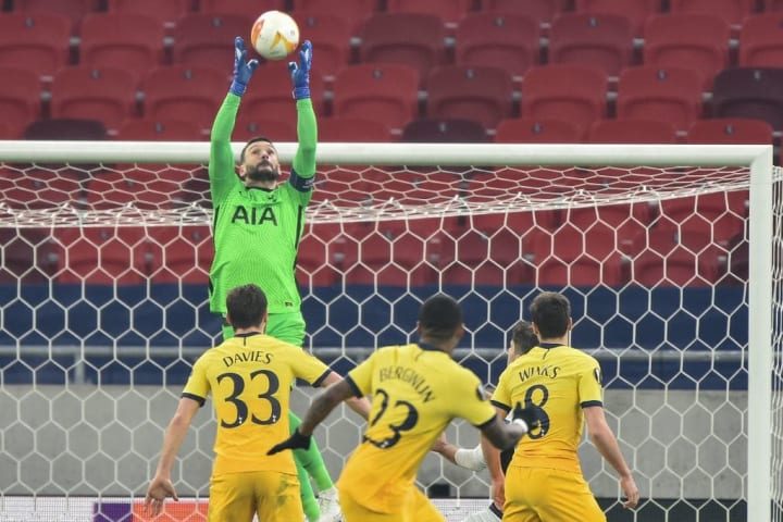 Lloris was more commanding against Wolfsberger