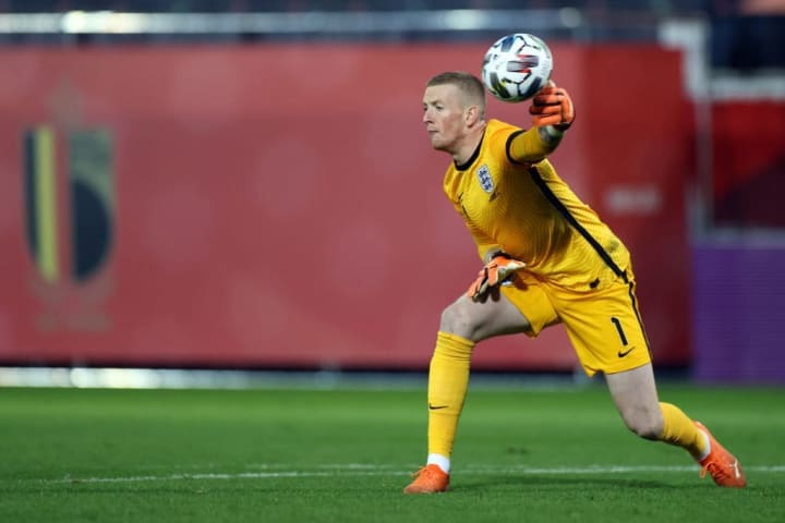 Pickford will have wanted to do better for the first goal
