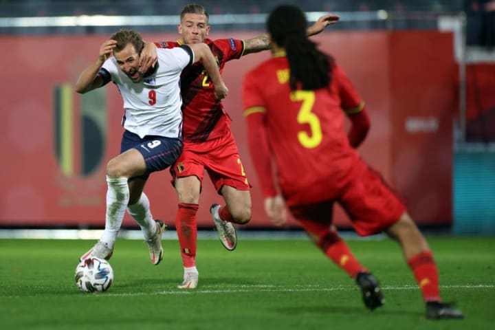 Kane caused Belgium a lot of problems