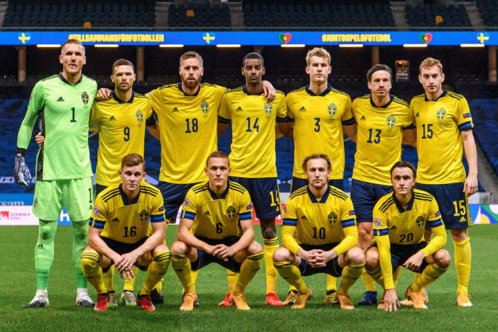 Sweden are a mix of youth and experience