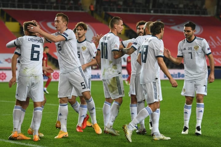 Russia were one of the top scoring sides in qualifying