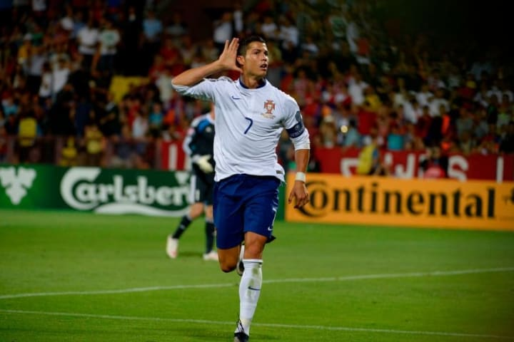 Ronaldo was unstoppable against Armenia in 2015