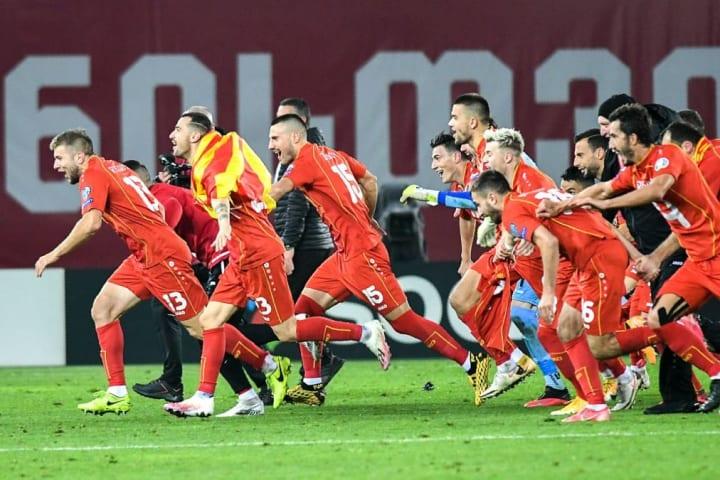 North Macedonia made history by qualifying