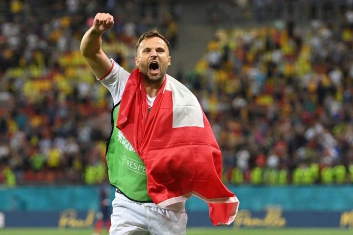 Suíça Espanha Eurocopa Quartas de final Seferovic