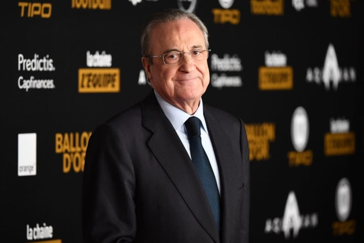 Real Madrid president Florentino Perez is a supporter of reform in football