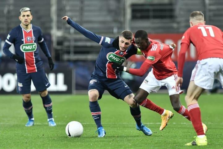 PSG Brest Ligue 1 Decisão