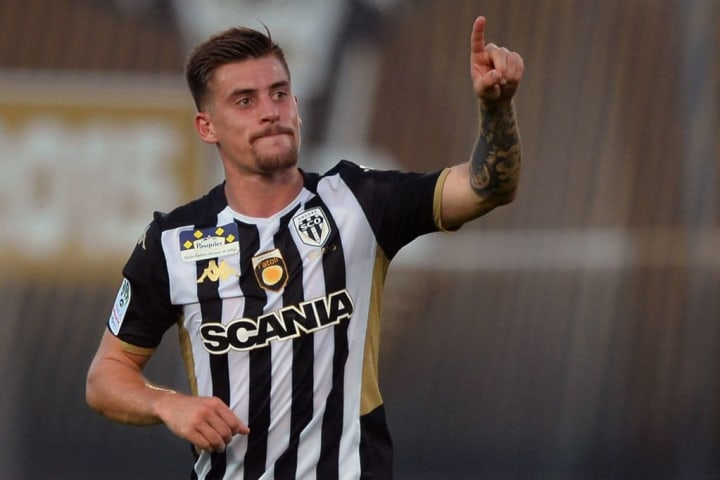 Santamaria has missed just seven games for Angers since joining in 2016