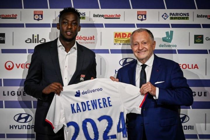 Tino Kadewere s'est engagé pour 4 saisons avec le club rhodanien