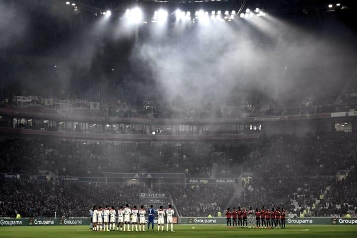 The Groupama Stadium always ensures a feisty atmosphere