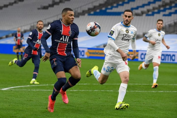 PSG/Marseille is France's primary domestic club rivalry