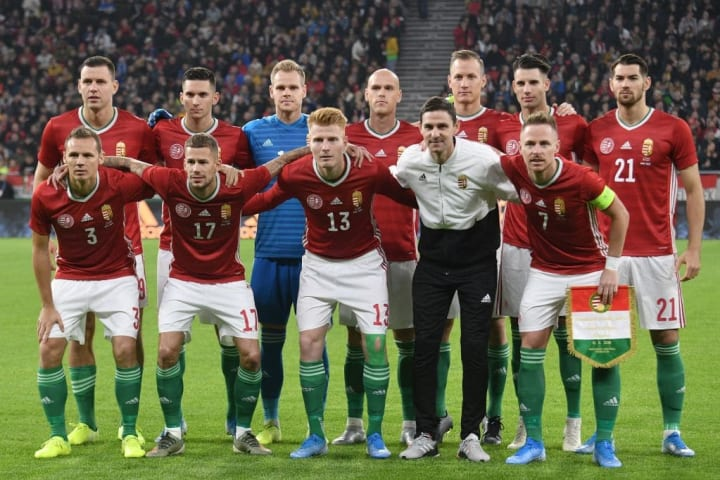 Hungary have a number of promising youngsters