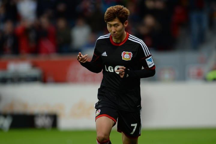 Son Heung-min estuvo en el Leverkusen antes de fichar por el Tottenham