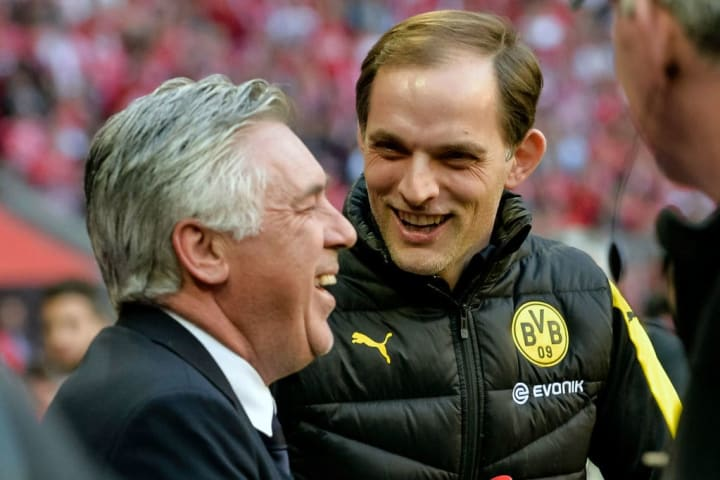 Thomas Tuchel and Carlo Ancelotti