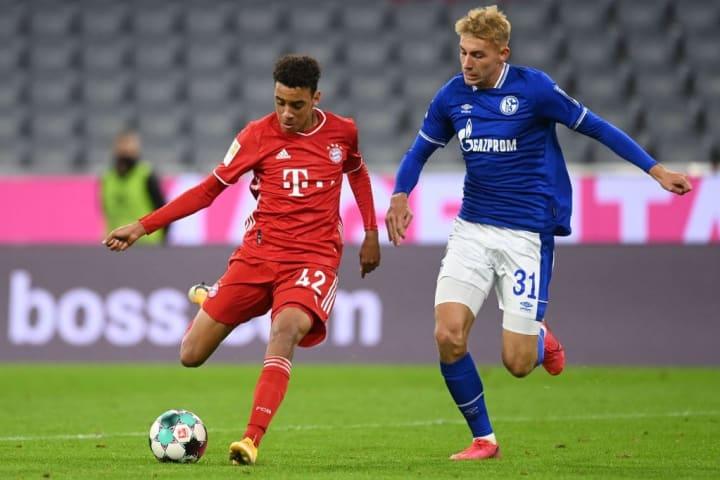 Jamal Musiala, FC Bayern München, FC Schalke 04, Bundesliga