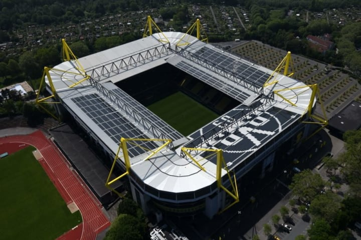 The beauty of Signal Iduna Park is created by the fans inside