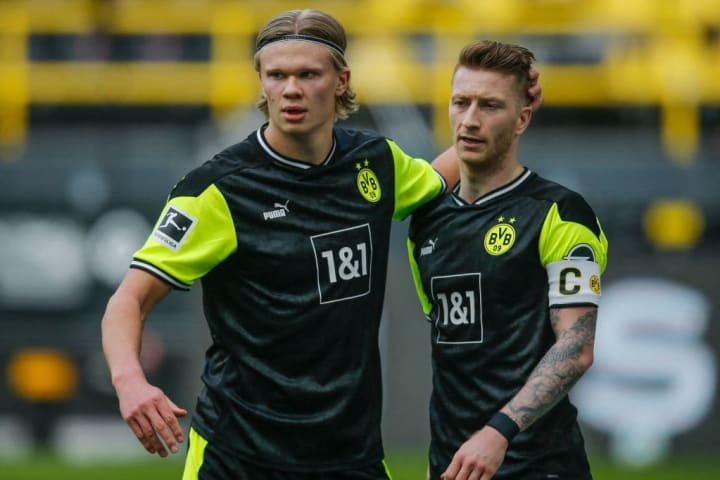 Haaland has scored 53 goals in 57 appearances for Dortmund