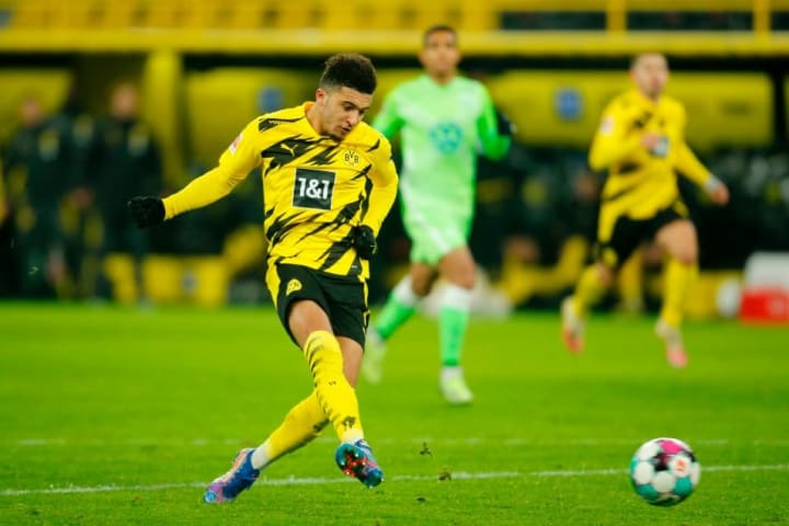 Sancho has improved since Germany's Christmas break