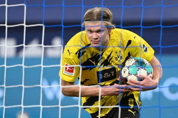 Haaland has scored 28 goals for Dortmund this season alone