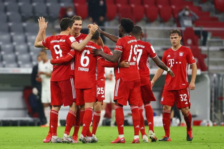 Bayern are on course for another domestic double