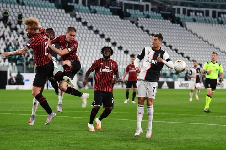 A stalemate in Turin wasn't enough to send Milan into the Coppa Italia final