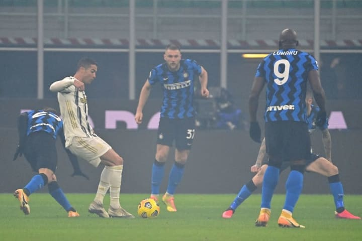 Inter were excellently defensively