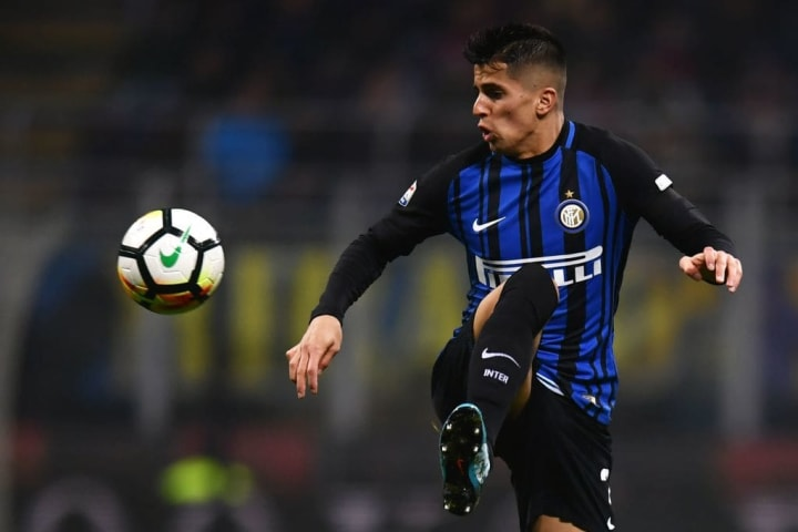 João Cancelo played 28 games during his single season on loan at Inter, scoring once and laying on two assists