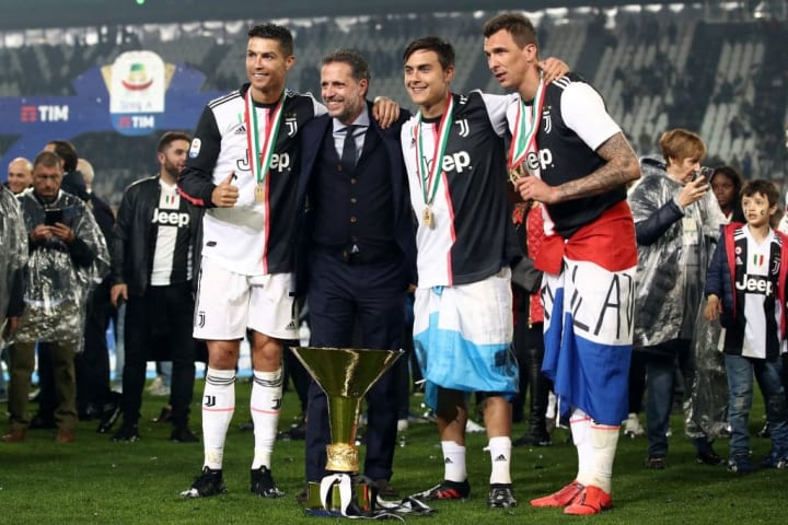 Paratici and Dybala have won many a trophy together