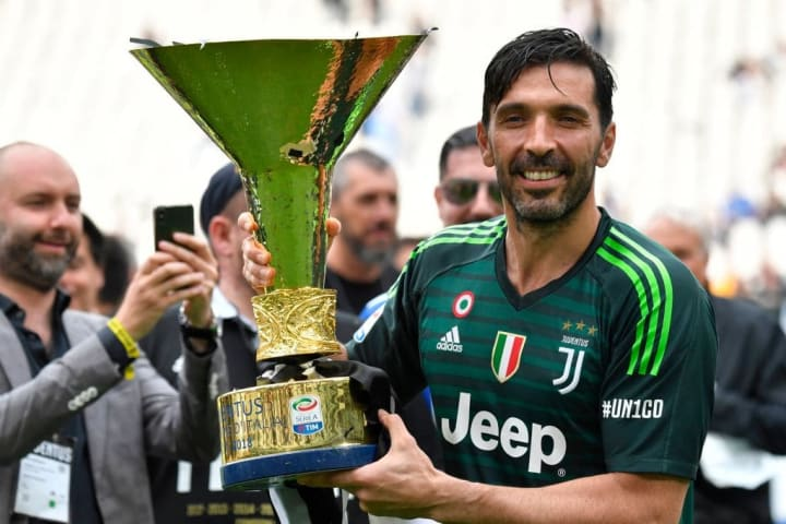 Serie A şampiyonu Gianluigi Buffon