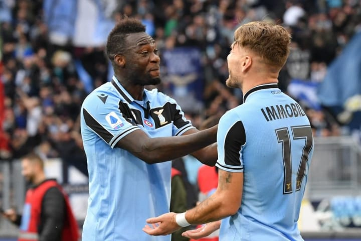 Ciro Immobile and Felipe Caicedo are both suspended for Lazio's clash with Milan