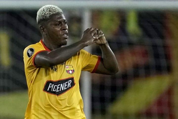 Gabriel Cortez Barcelona Seleção Oitavas Libertadores