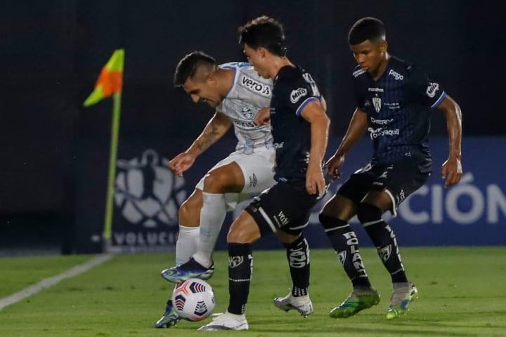 Pinares Grêmio Darlan Del Valle Libertadores Derrota