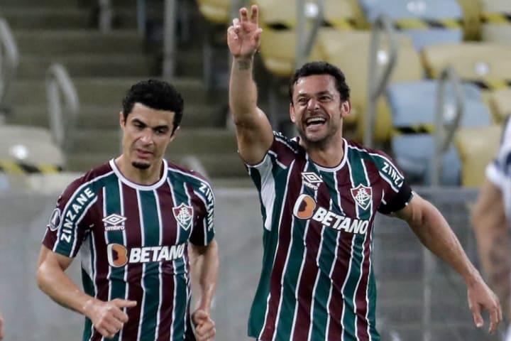 Fred Fluminense Curiosidade Libertadores Quartas de final