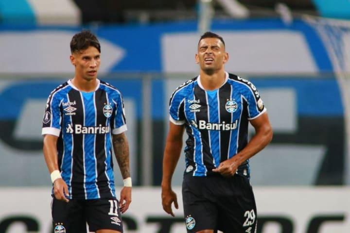 Diego Souza Ferreira Grêmio Libertadores Virada independiente del Valle
