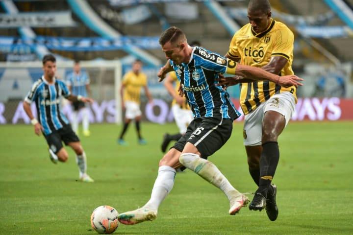Diego Churín Grêmio Libertadores Del Valle Boletim Médico