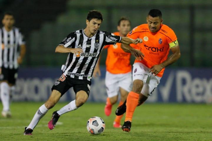 Nacho Fernández Meia Atlético-MG Estrangeiro Futebol brasileiro