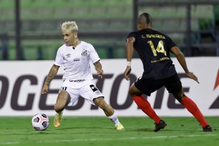 Santos Jogos 2021 Libertadores Estadual Soteldo